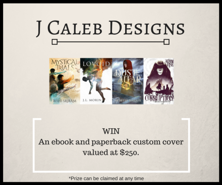 J Caleb's Giveaway Graphic with border