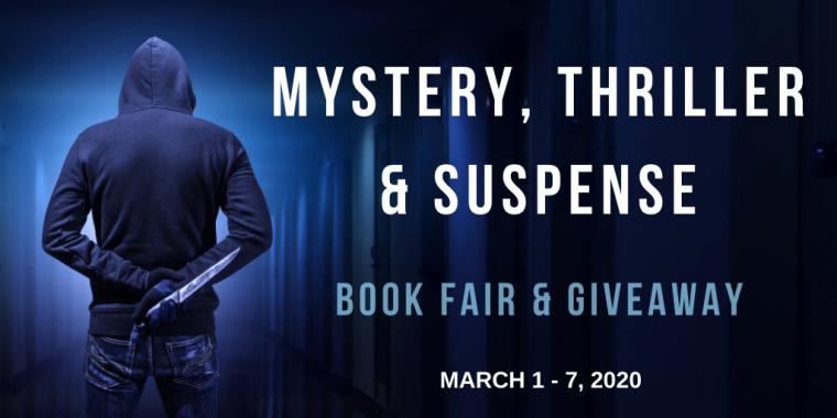 Mystery, Thriller, Suspense Book Fair & Giveaway